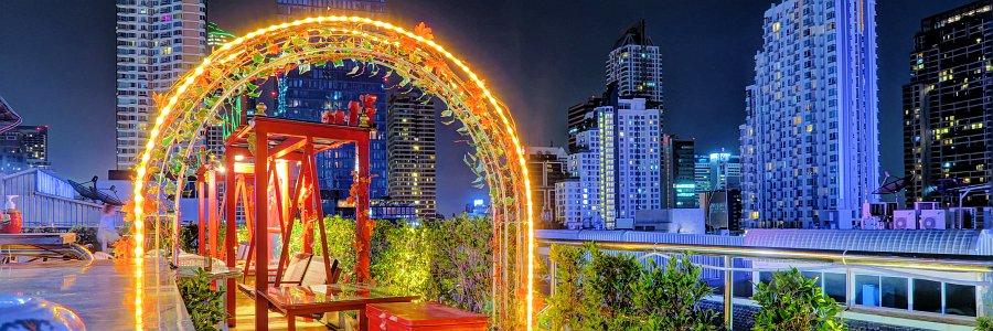 Die 7 besten Rooftop Bars/Restaurants in Bangkok [+Karte]